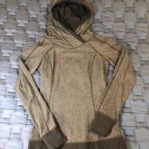Lululemon Think Fast hoodie, size 6